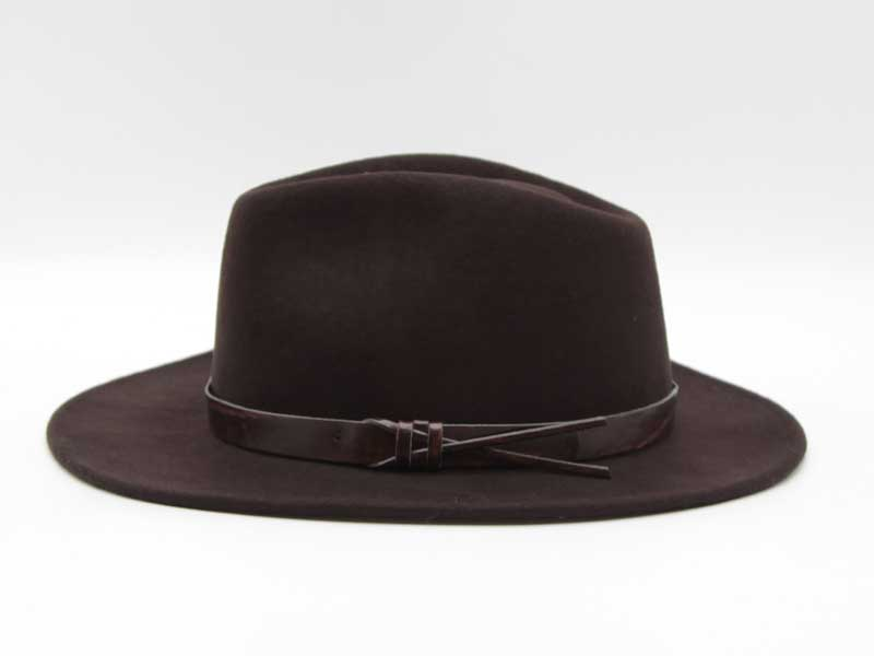 Cappello stile Western marrone taglia 57 unisex