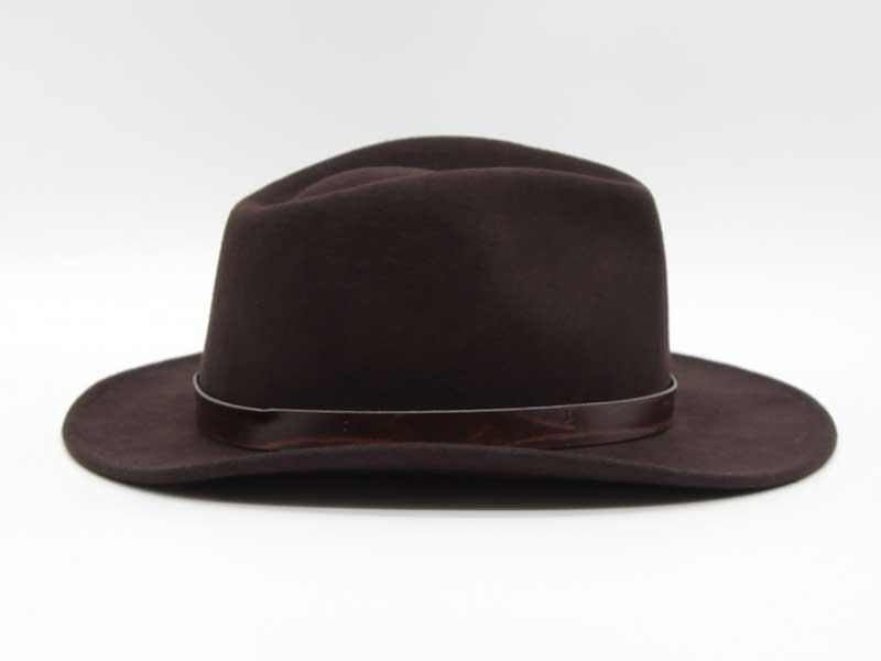 Cappello stile Western marrone taglia 61 unisex