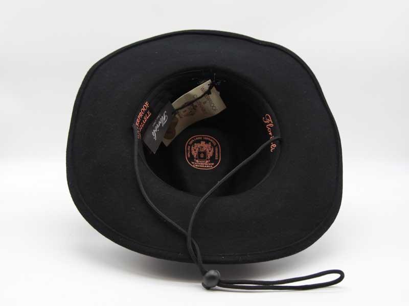 Cappello stile Western nero taglia 55 unisex