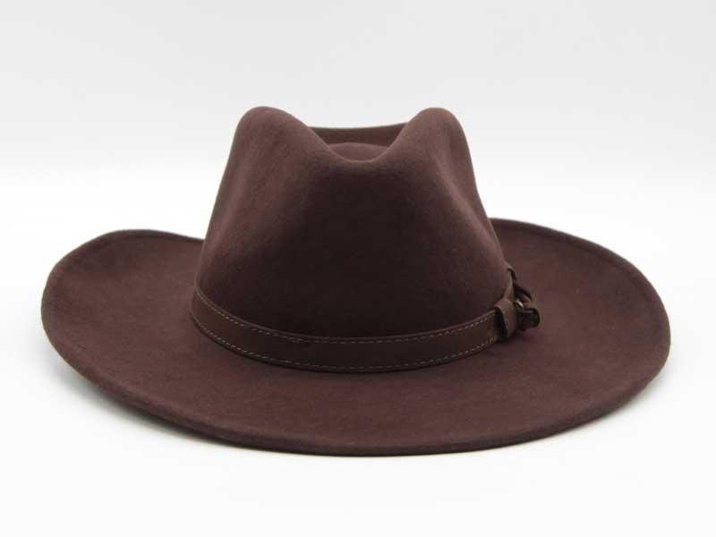Cappello stile Western marrone taglia 55 unisex