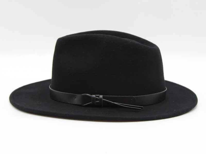 Cappello stile Western nero taglia 57 unisex