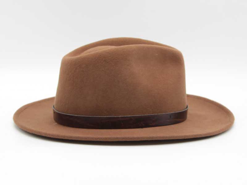 Cappello stile Western cacao taglia 59 unisex