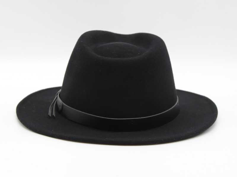 Cappello stile Western nero taglia 59 unisex