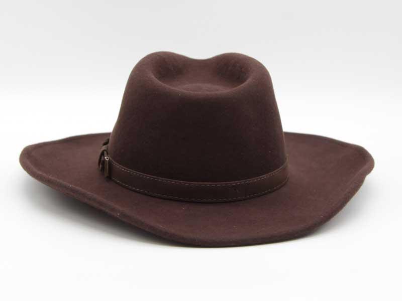 Cappello stile Western marrone taglia 59 unisex