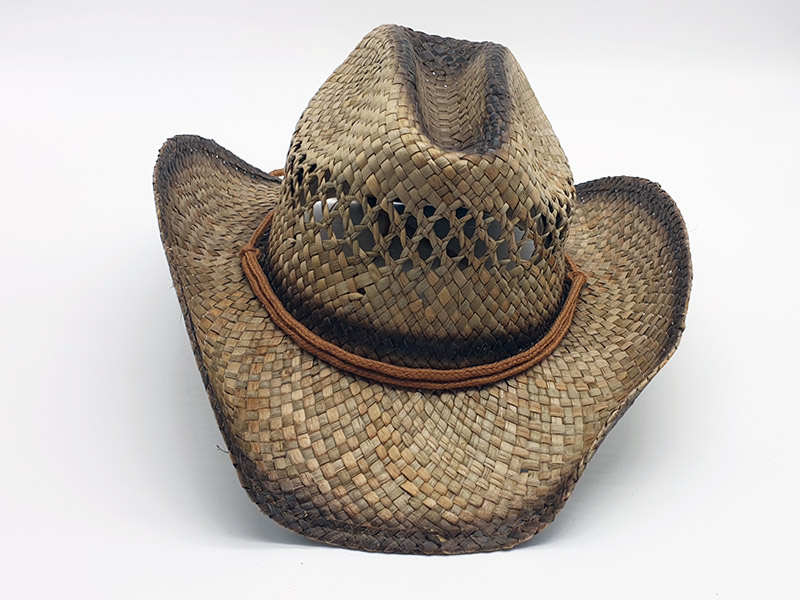 Cappello in paglia stile Country Cowboy - shop.florioli.it