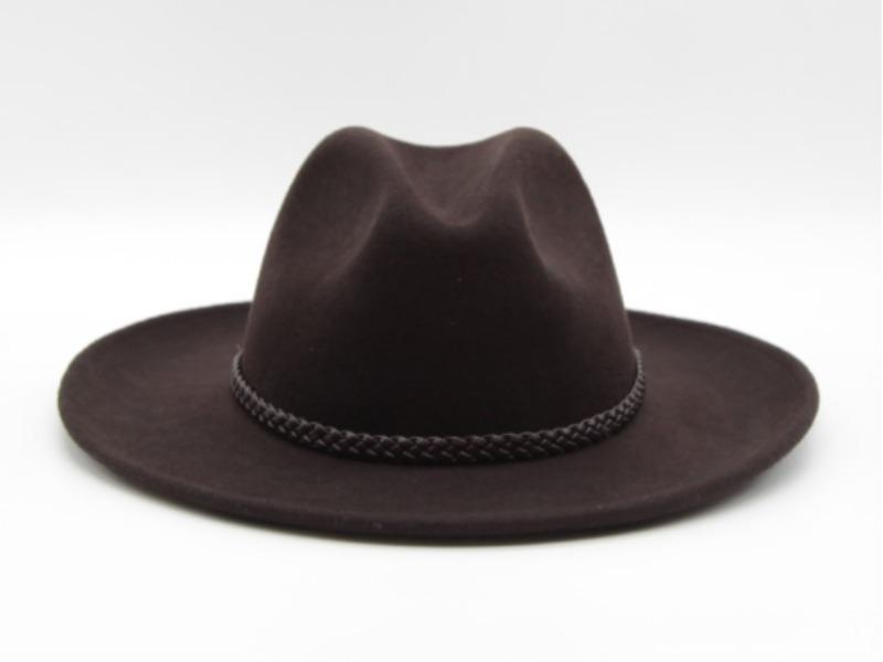 Cappello in feltro stile Western 31014 da Cowboy